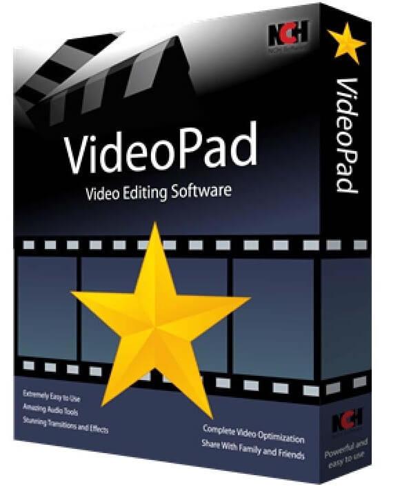 Логотип программы VideoPad Video Editor