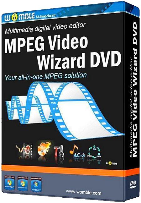 Логотип программы Womble MPEG Video Wizard