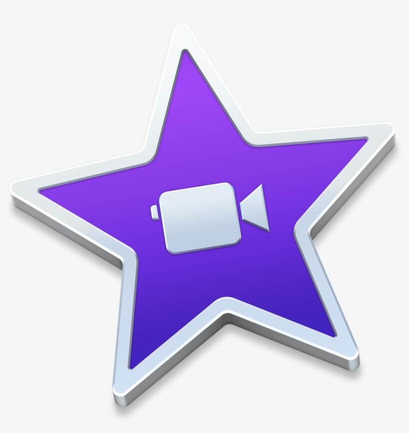 Логотип программы iMovie