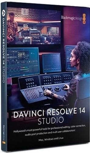 Логотип программы DaVinci Resolve
