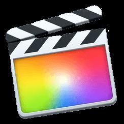 Логотип программы Final Cut Pro X