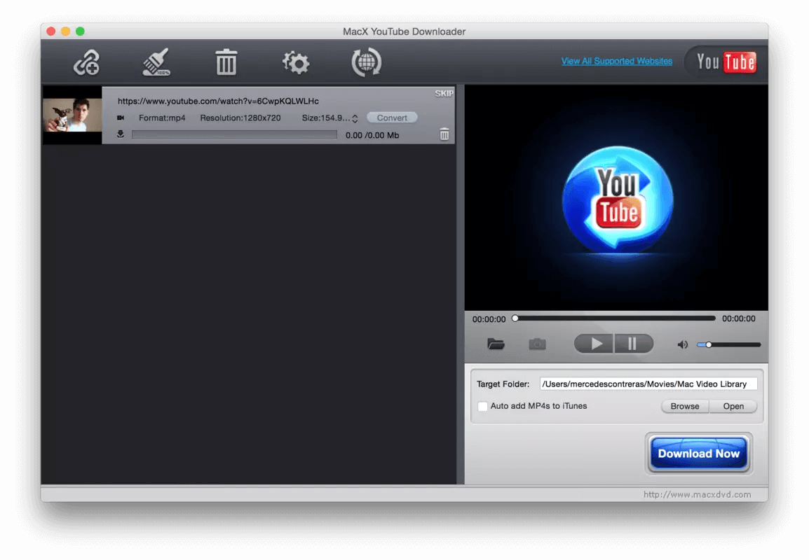 Инструкция по MacX Youtube Downloader