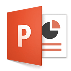 логотип программы Microsoft PowerPoint