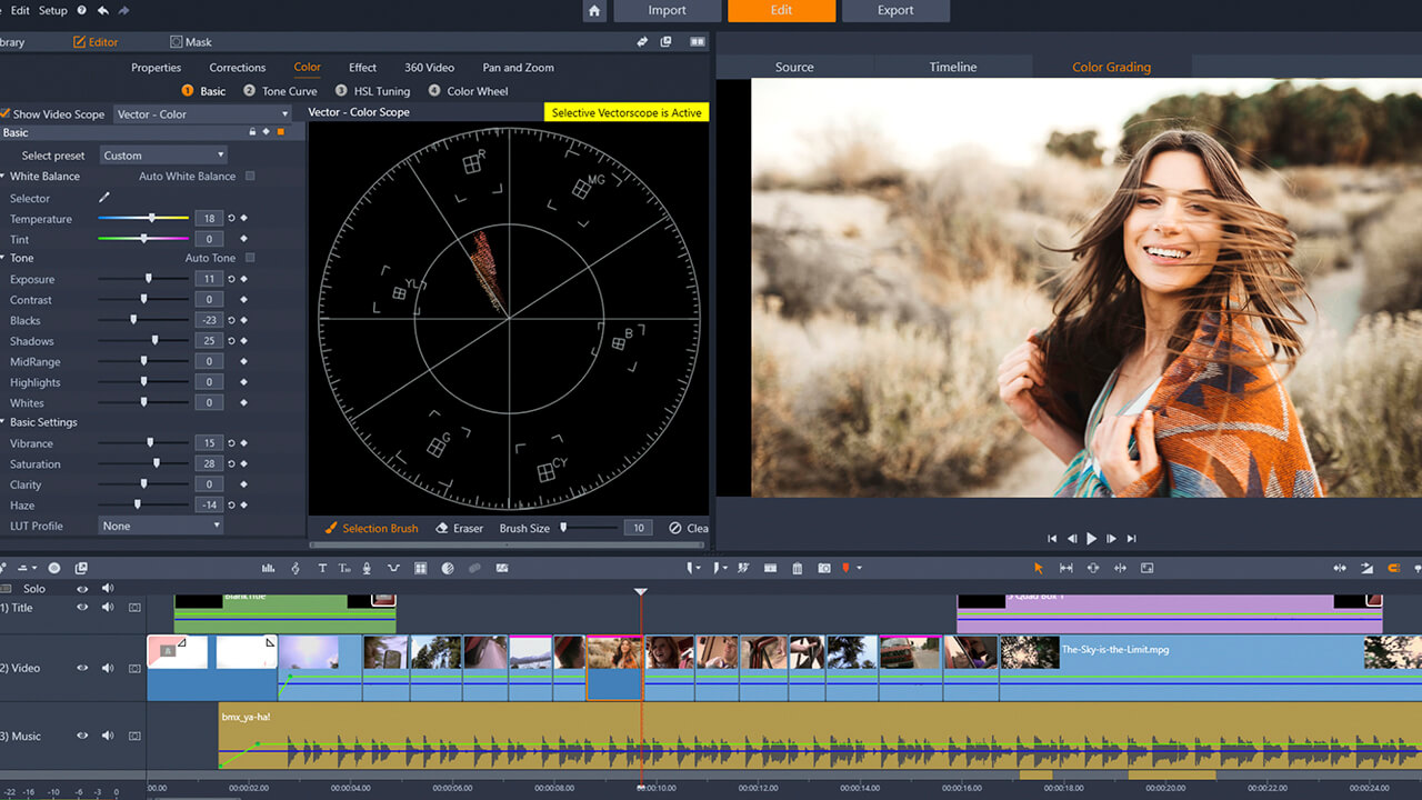 Скриншот программы Pinnacle Studio