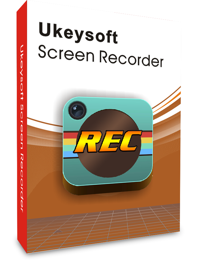 Логотип программы UkeySoft Screen Recorder